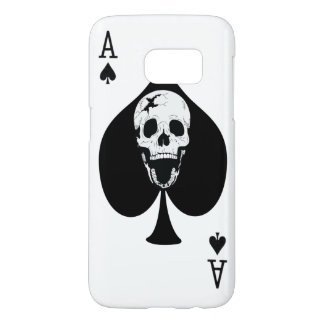 Ace of Spades Fractured Screaming Skull
