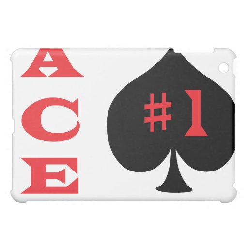 Ace of spades case for the iPad mini