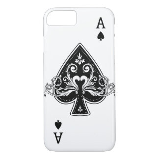 Ace of Spades iPhone 8/7 Case