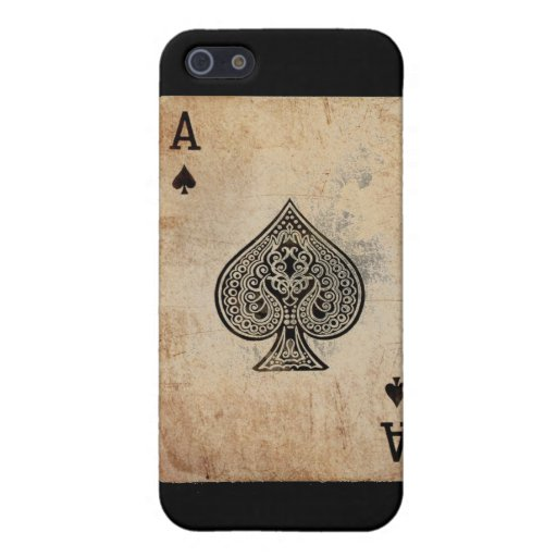 ace of spades case for iPhone 5