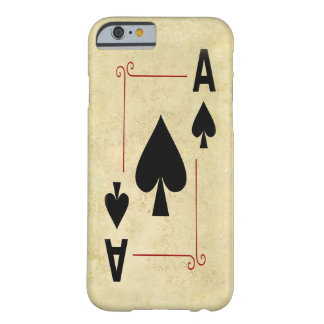 Ace Of Spades iPhone Case Barely There iPhone 6 Case