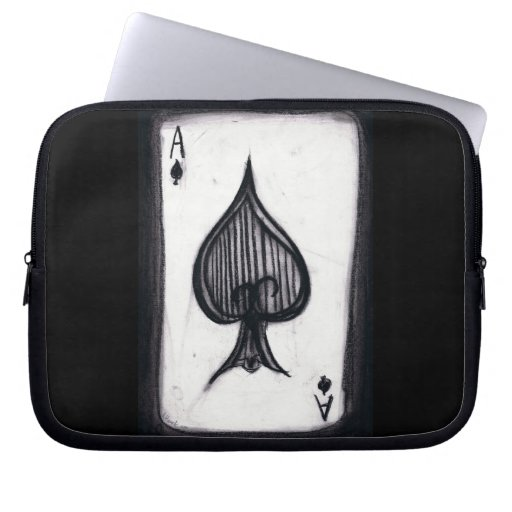 Ace of Spades Computer Sleeves