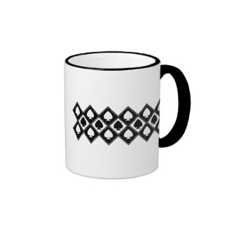 Ace of Spades Motif Coffee Mugs
