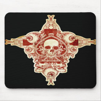 Ace of spades mousepads