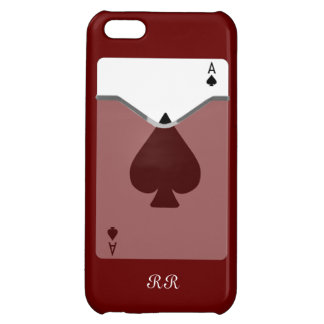 Ace Of Spades On iPhone 5 Case