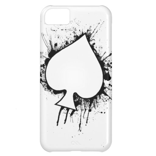 Ace of spades phone case iPhone 5C cases