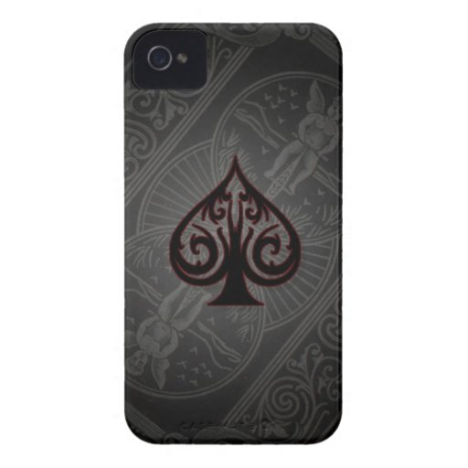 Ace of spades phone case iPhone 4 covers