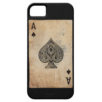 Ace of spades phone case barely there iPhone 5 case