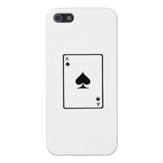 Ace of Spades Playing Card Case For iPhone 5