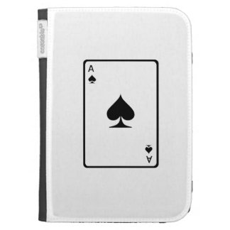 Ace of Spades Playing Card Kindle 3 Cover
