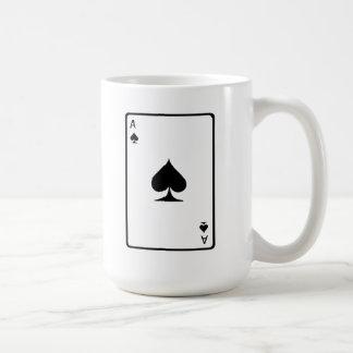 Ace of Spades Playing Card Coffee Mugs