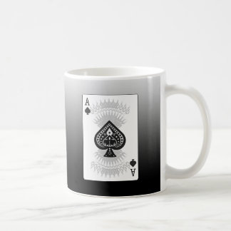 Ace of Spades Poker Card: Coffee Mug