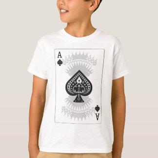 Ace of Spades Poker Card: T-Shirt