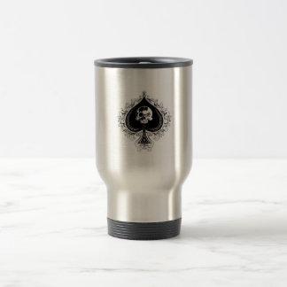 Ace of spades travel mug.