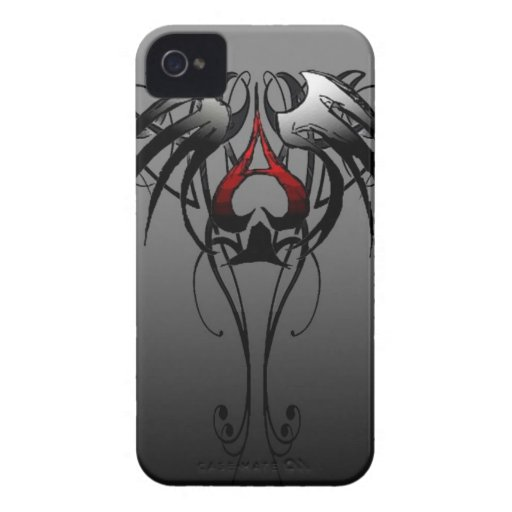 ace of spades tribal design iPhone 4 cases