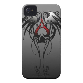 ace of spades tribal design Case-Mate iPhone 4 case