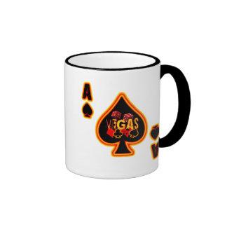 Ace of Spades Vegas Coffee Mugs