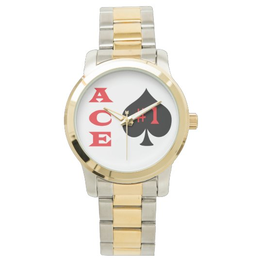 Ace of spades wristwatches. watch