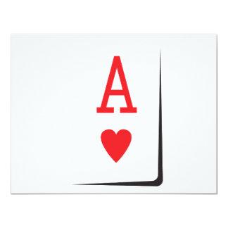 Ace product 11 cm x 14 cm invitation card