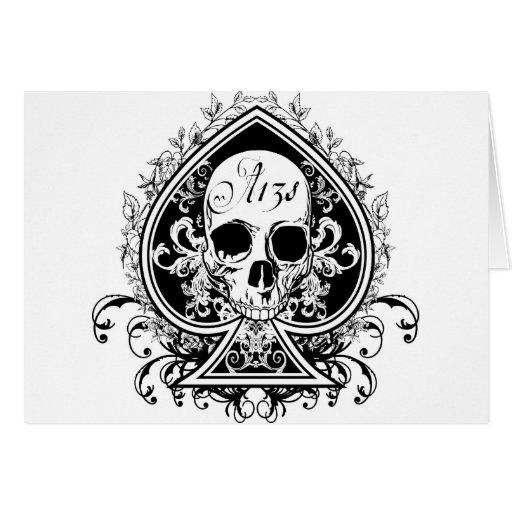 Ace Skull Cards