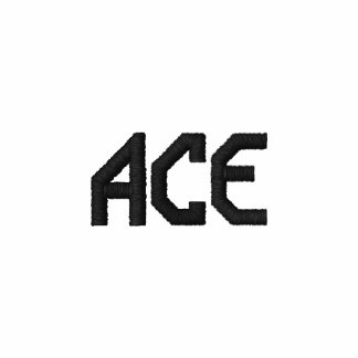 ACE Tennis Gear Embroidered Polo Shirt