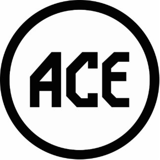 ACE Tennis Gear Photo Sculpture Key Ring