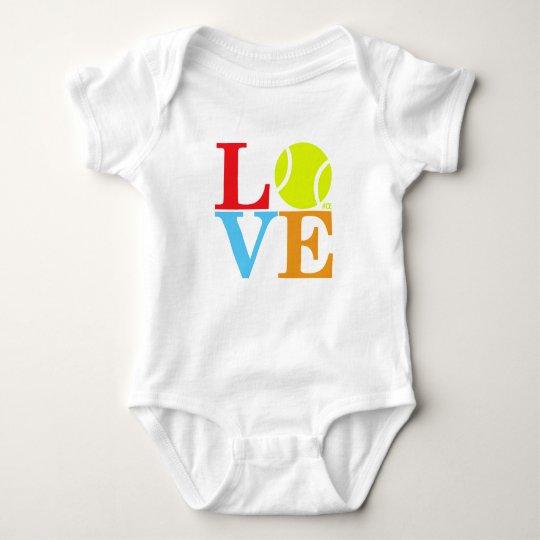 Ace Tennis LOVE Baby Bodysuit