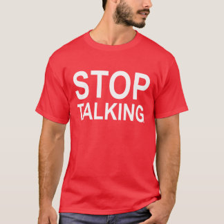 ACE Tennis STOP TALKING T-Shirt