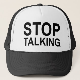 ACE Tennis STOP TALKING Trucker Hat