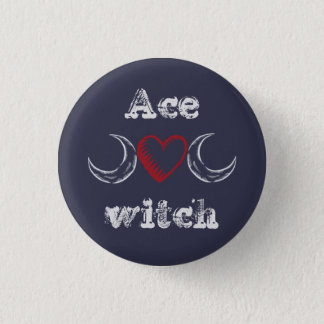 Ace witch (asexual) badge /