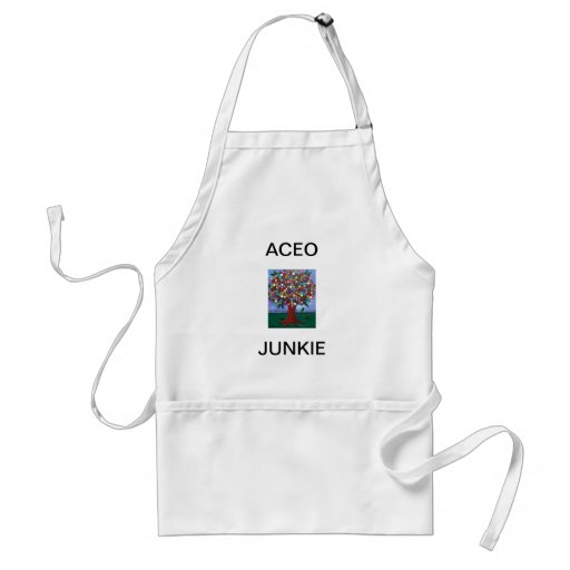ACEO JUNKIE By Lori Everett Apron