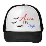 Aces fly high trucker hat