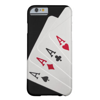 Aces Four of a Kind Barely There iPhone 6 Case