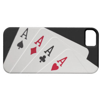 Aces Four of a Kind iPhone 5 Case