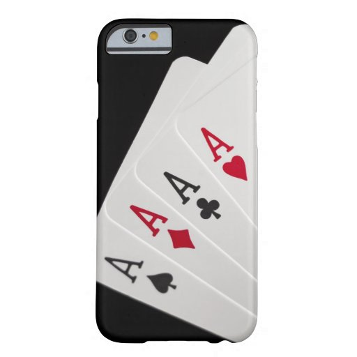 Aces Four of a Kind iPhone 6 Case