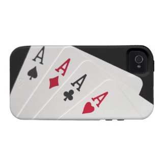 Aces Four of a Kind iPhone 4 Covers