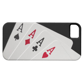 Aces Four of a Kind Case For The iPhone 5