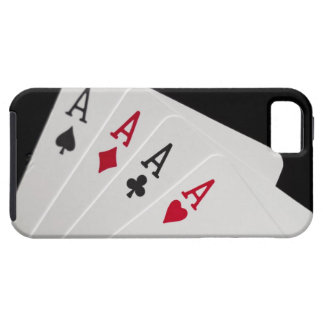 Aces Four of a Kind iPhone 5 Cover