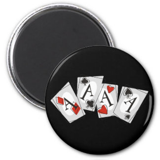 Aces High Magnet
