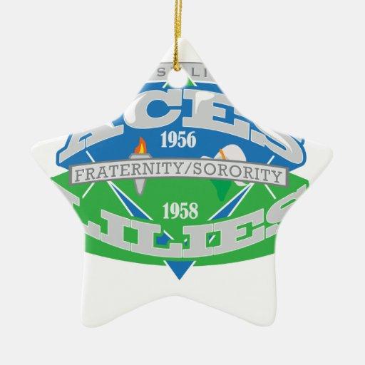 Aces-Lilies Logo Souvenier Christmas Ornaments