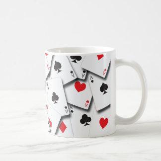ACES PLAYING CARDS COFFEE MUG