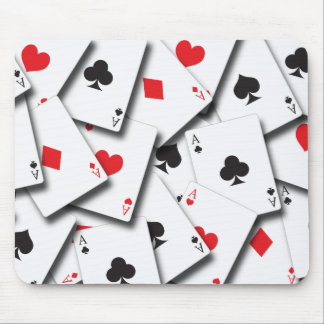 ACES PLAYING CARDS MOUSE PAD