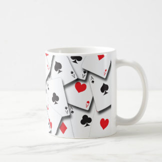 ACES PLAYING CARDS MUGS