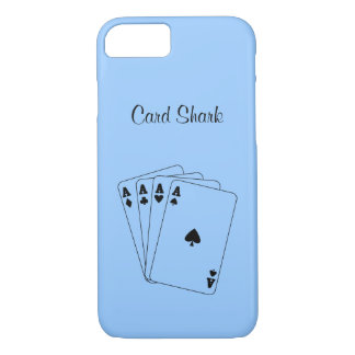 Aces Poker Hand iPhone 7 Case