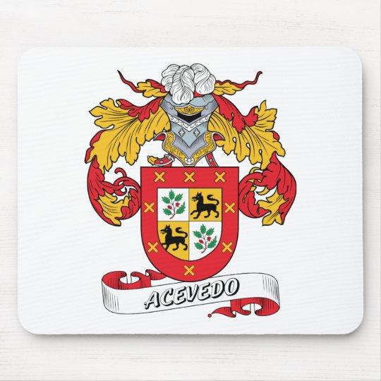 Acevedo Family Crest Mouse Mat