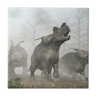 Achelousauruses Tile