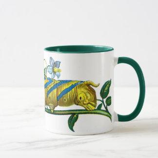 Acherontia atropos caterpillar mug