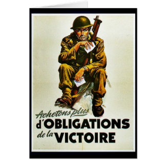 Achetons Plus D' Obligations De La Victoire Cards