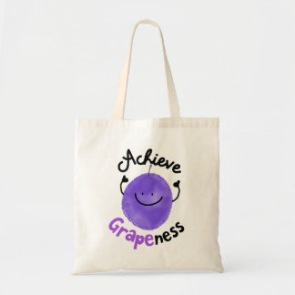 Achieve Grape ness - Tote
