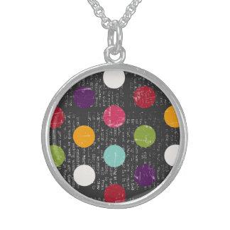 Achievement Independent Exquisite Dazzling Round Pendant Necklace